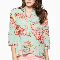 ShopSosie Style : Rosemary Blouse in Mint