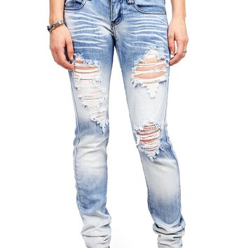 White Out Straight Jeans
