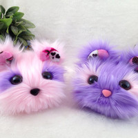 Cotton Candy Monsterlings, Batch 3. Doll, plushie, stuffed animal, monster. One of a kind.