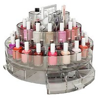 Polish Parlor Rotating Nail Care Caddy by Marcy McKenna — QVC.com