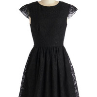 ModCloth LBD Mid-length Cap Sleeves Tribeca Your Best Dress