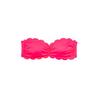 Scalloped Bandeau - PINK - Victoria's Secret