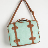 ModCloth Urban Mint to Be Moving Bag