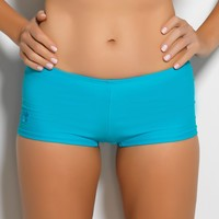 Turquoise Boy Short Swim Bottom