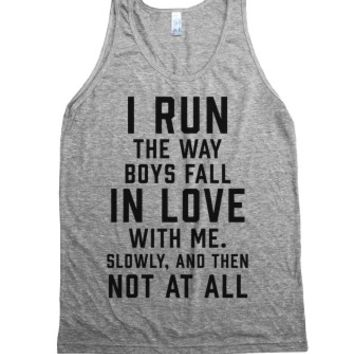 Athletic Grey Tank | Fault In Our Starts Shirts