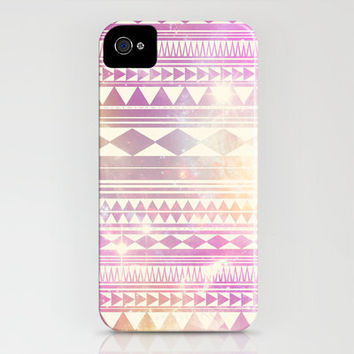 Galaxy Tribal iPhone Case by haleyivers | Society6