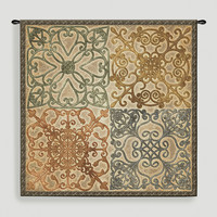 Wrought Iron Elegance Tapestry Wall Hanging - World Market
