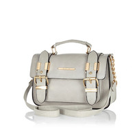 River Island Womens Grey mini satchel