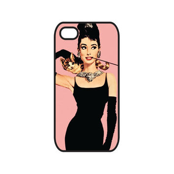 Audrey Hepburn iPhone 4 Case and iPhone 4s Case, Breakfast at Tiffany's iPhone 4 Cover and iPhone 4s Cover