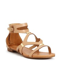 Sale-cut-out Metal Bar Sandals