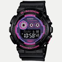 G-Shock Gd120n-1B4 Watch Black/Purple One Size For Men 25356414901