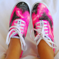 Pink Galaxy Shoes