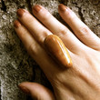 Wooden ring unique wood jewelry woodworking