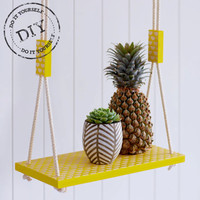 Urban Crafter Scallop Print Plant Swing DIY kit