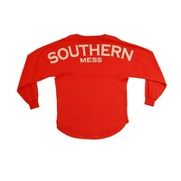 Palmetto Moon | Southern Mess V-neck Spirit Jersey | Palmetto Moon