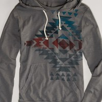AEO 's Graphic Hoodie Tee (Grey Road)