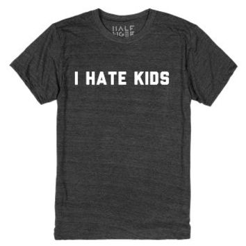 Child Hater-Unisex Heather Onyx T-Shirt