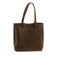 JoAnne Tote Oak with Navy