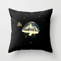 Float On Throw Pillow by RichCaspian   Society6