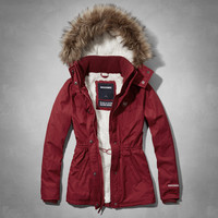 A&F Sherpa Lined Weather Warrior Jacket