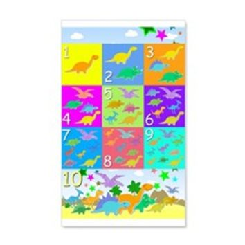 Learn Counting 1 to 10 Cute Dinosaurs Wall Decal> Learn Counting 1 to 10 Cute Dinosaurs> Cute Cartoon Dinosaurs Gifts