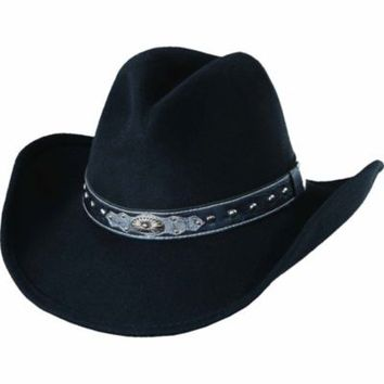 Scala Western Ladies' Western Hat, Faux Crocodile