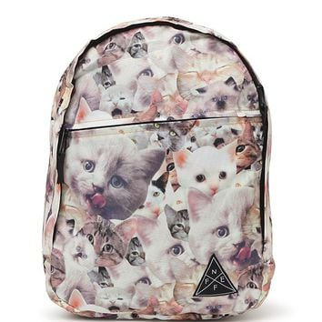 Neff Daily Meow School Backpack - Womens Backpack - Multi - One