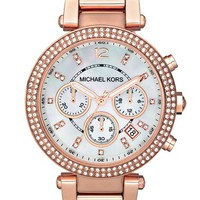 Women's Michael Kors 'Parker' Chronograph Bracelet Watch, 39mm