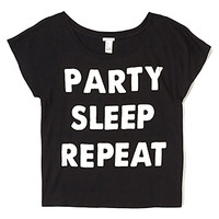 Party Graphic Boxy Tee