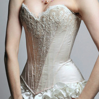 SAMPLE SALE - Isabelle overbust corset