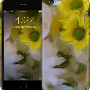 White And Yellow Flower Bouquet iPhone Cases & Skins by Kelly Cavender | Nuvango