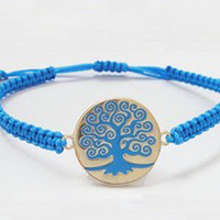 Wishing tree bracelet -- Bridesmaids Jewelries -- Summer Trends Accessories -- Christmas gift