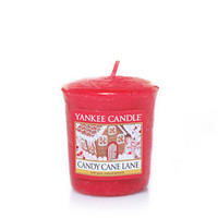 Candy Cane Lane : Sampler Votive Candles : Yankee Candle