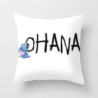 OHANA Throw Pillow by Sjaefashion | Society6