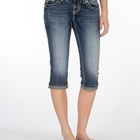 Miss Me Embroidered Stretch Cropped Jean