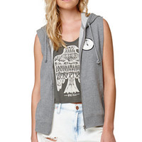 RVCA Well To Hell Zip Vest Hoodie at PacSun.com