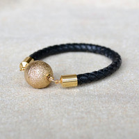 ORBITAL braided rope bracelet by GOLDhearted on Etsy