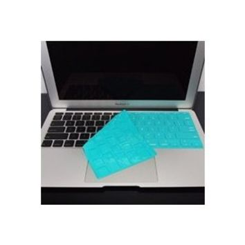 "TopCase SOLID TEAL Keyboard Silicone Cover Skin for Macbook AIR 11"" A1370 from Late 2010 - Mid 2011(JULY) with TOPCASE Logo Mouse Pad"