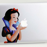 Best Quality Fast Shipping Snow White Macbook Decal by LOLShopp