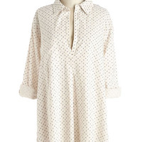 ModCloth Long 3 Effortless in the A.M. Tunic