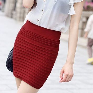 Bodycon Linned Skirt