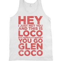 You Go Glen Coco (Call Me Maybe Tank Top) |