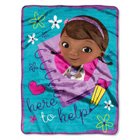 Doc McStuffins Here To Help  Silk Touch Throw (50x 60)