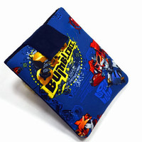 """Hand Crafted Tablet Case from Transformers Fabric/ Tablet Case For  Kindle Fire HD 7"""" ,i Pad Mini,Nook HD 7, Samsung Galaxy 7"""