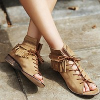 Free People Firefly Lace Sandal