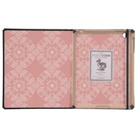 Dusty Pink Floral Pattern iPad Cover