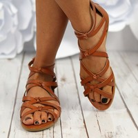 Don't Get Tied Down Sandals