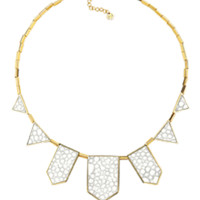 House of Harlow 1960 Jewelry Plated Five Station Necklace