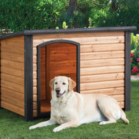 Top Paw Outback Log Cabin Dog House