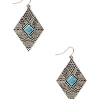 Tribal-Inspired Drop Earrings